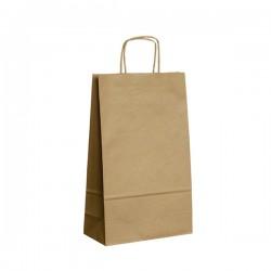 Papírová taška hnědá ExtraTWIST 22x10x35