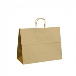 Papírová taška hnědá ExtraTWIST 35x14x26