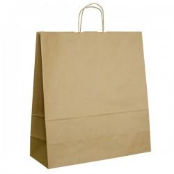 Papírová taška hnědá ExtraTWIST 45x17x48