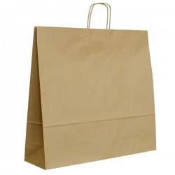 Papírová taška hnědá ExtraTWIST 54x15x49
