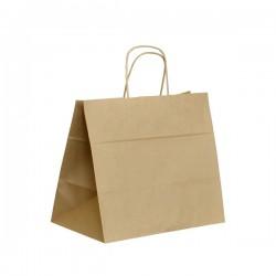 Papírová taška hnědá ExtraTWIST 32x20x28